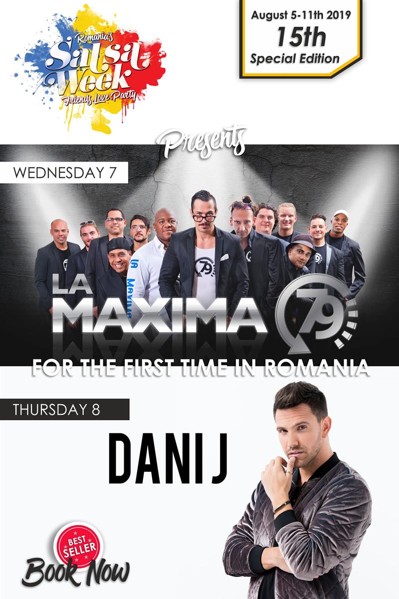 Afis Romania Salsa Week 2019